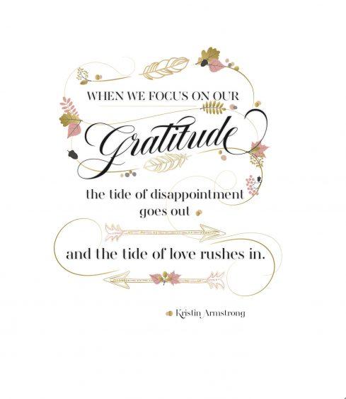 Read more about Attitude of Gratitude